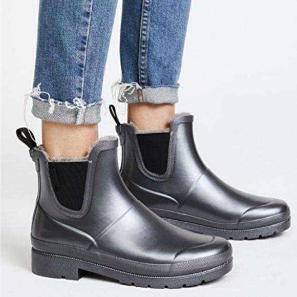 New Tretorn Lina Fur Chelsea Rain Boots